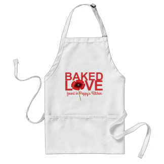 Baked Love Found in Your Kitchen Poppy Apron