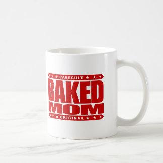 BAKED MOM - I'm A Domestic Brownie Baking Goddess Coffee Mug