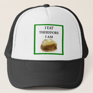 baked potato trucker hat