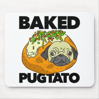 Baked Pugtato Mouse Pad