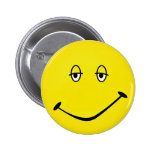 Baked Smiley Button
