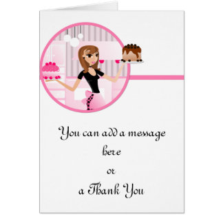 Baker/Bakery/Pastry Chef 3 Greeting Card