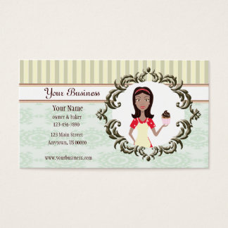 Baker, Bakery, Pastry Chef Business Card