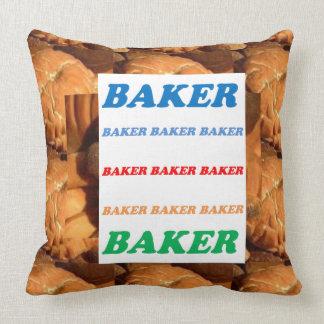 BAKER Biscuits Cookies Cake Pastry Icecream FUN JO Throw Pillow