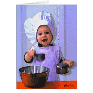 Baker Boy birthday card