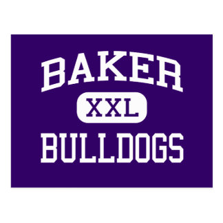 Baker - Bulldogs - Senior - Baker City Oregon Postcard