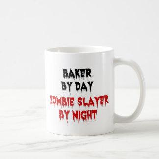 Baker by Day Zombie Slayer by Night Coffee Mug
