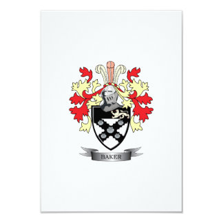 Baker Coat of Arms Card