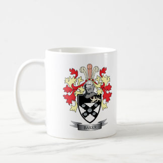 Baker Coat of Arms Coffee Mug