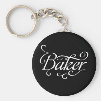 Baker Dark Keychain