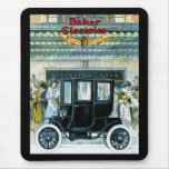 Baker Electric Cars - Vintage Ad Mousepad