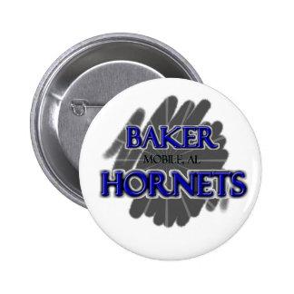 Baker High School Hornets - Mobile AL Pins