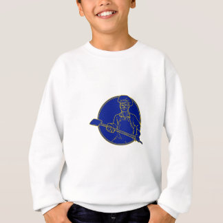 Baker Holding Peel Circle Mono Line Sweatshirt