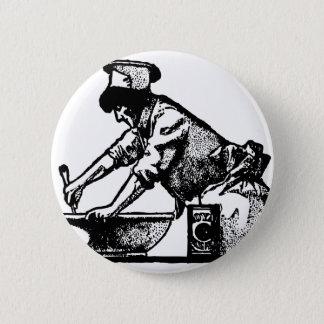 Baker Mixing 6 Cm Round Badge