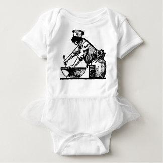 Baker Mixing Baby Bodysuit