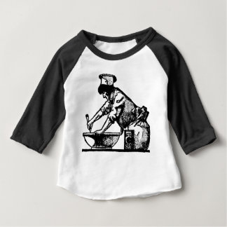 Baker Mixing Baby T-Shirt