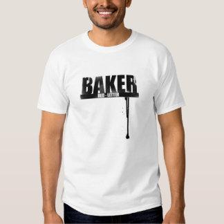 Baker Red Letter Tshirt