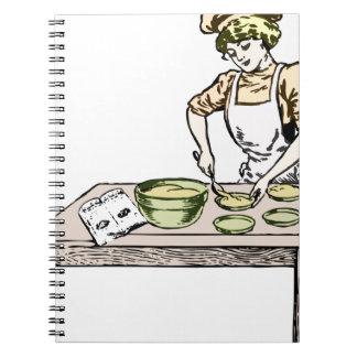 Baker Spiral Notebook