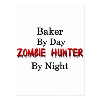 Baker/Zombie Hunter Postcard