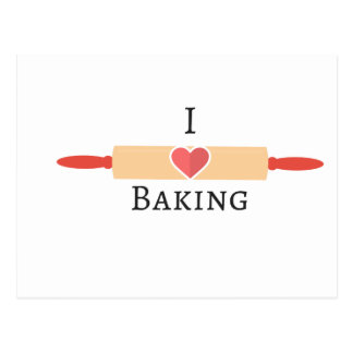 Bakers Love Postcard