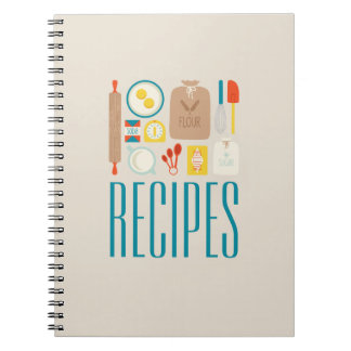 Baker's Recipes Notebooks