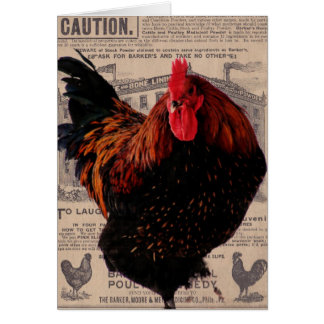 Baker's Special Poultry, Birthday Card