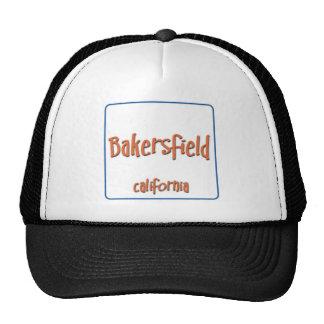 Bakersfield California BlueBox Mesh Hats