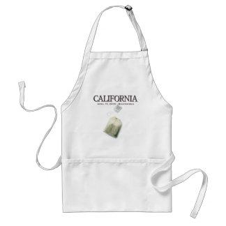 Bakersfield California Tea Party Apron