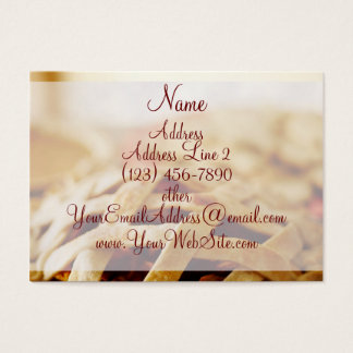 Bakery Baked Pie Business Cards