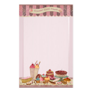 Bakery Boutique Cakes & Patisserie Stationery 2