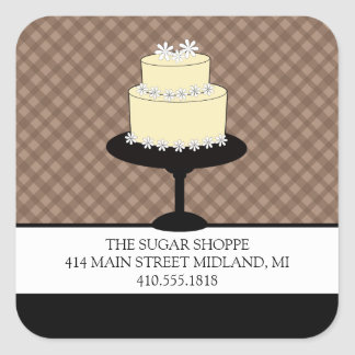 Bakery Boutique Style Product Label Stickers