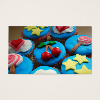 Bakery Business Cards Cupcakes
