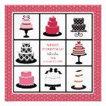 Bakery Business Christmas Cards Custom Invites