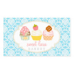 Bakery Cafe Retro Sweet Cupcakes Cute Boutique Pack Of Standard Business Cards