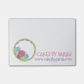 Bakery Cakes By Cake Decorator Baking Post Its Post-it Notes