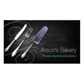 Bakery Cakes Desserts Pastries Tarjetas De Negocios