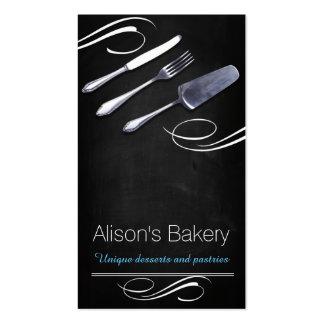 Bakery Cakes Desserts Pastries Tarjeta De Visita