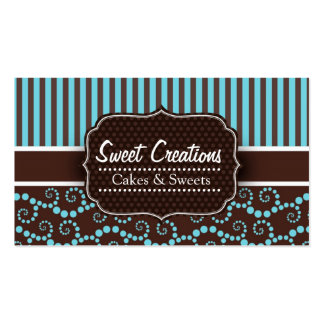 Bakery Cakes Sweets Creations Tarjeta De Visita