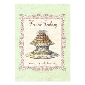 Bakery, Candy Shop, Elegant Vintage Business Cards