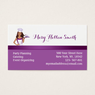 kids party planner business cards zazzlecomau
