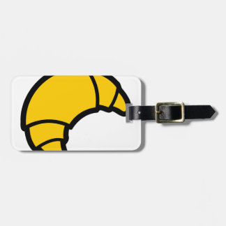Bakery Croissant Luggage Tag