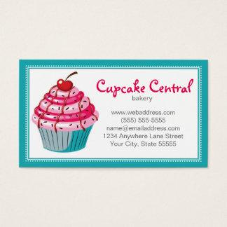 Bakery Cupcake Business Card Design Template