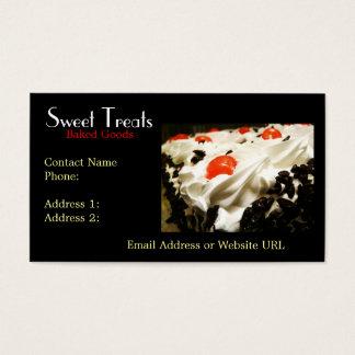 Bakery Dessert Company Business Card
