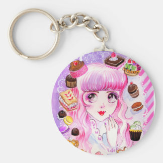 Bakery Girl Key Ring