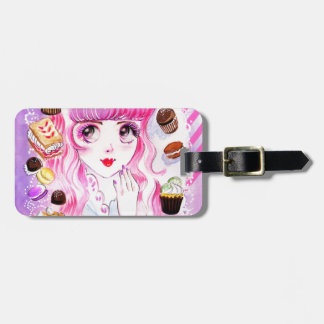 Bakery Girl Luggage Tag