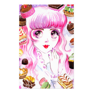 Bakery Girl Stationery
