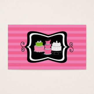 Bakery or Cake Shop Business Cards