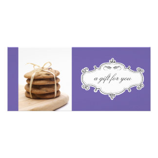 Bakery or Cookie Business Gift Certificates Personalized Rack Card