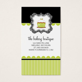 Bakery or Cupcake Shop Business Cards