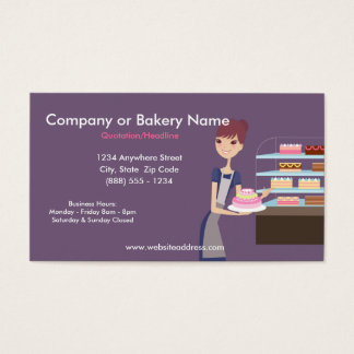 Bakery/Pastry Shop 4 Business Card